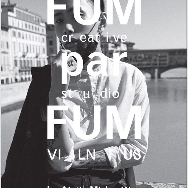 FUMparFUM creative studio / VILNIUS art perfumery & conceptual fragrances  www.fumparfum.com  Advertising poster for AŠ IKONA (@as_ikona) magazine.  Photo by @giocondaandaugust  Model @williamdued  Design by @dzervute Creative director @fumeurparfumeur