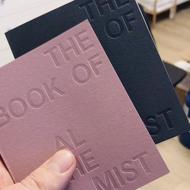 NEW!!! Stylish FUMparFUM notebooks (Pink and Black) named THE BOOK OF ALCHEMIST!  Soon —> Vilnius Book Fair'2020  #my #little #things #stylish #notebook #pink #black #FUMparFUM #creative #studio #excellent #design